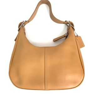 Vintage Coach Leather Hobo Shoulder bag